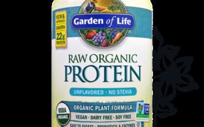 Raw Org Protein Powder – Vanilla 22oz