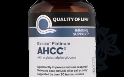 Kinoko Platinum AHCC 750mg Vcaps 60's