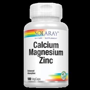Calcium, Magnesium, Zinc vcaps 100s