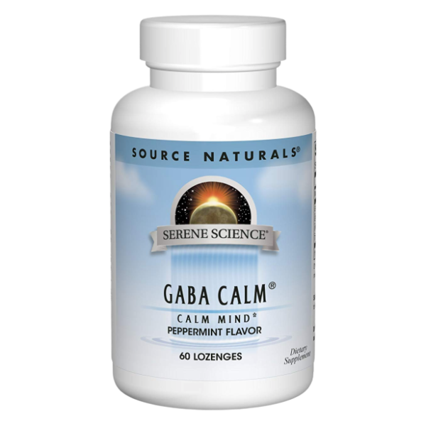Gaba Calm sublingual tabs peppermint 60s