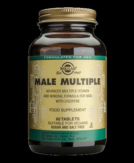 Male multi tabs 60s