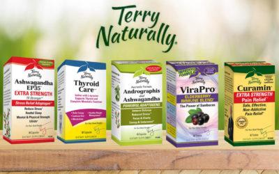 Cuida tu salud con los suplementos de Terry Naturally
